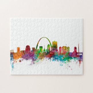 St Louis Missouri Skyline Puzzle