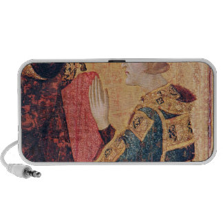 St. Louis of Toulouse  crowning his brother iPhone Speaker