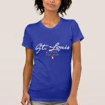 St. Louis Script T Shirts
