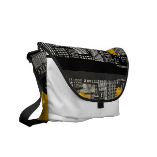 St. Louis Skyline Bag (yellow - detail) Commuter Bag
