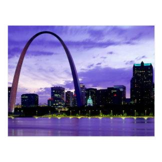 St. Louis Skyline Post Card