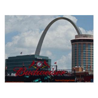 St. Louis Skyline Postcard