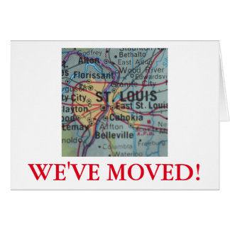St Louis We've Moved address announcement