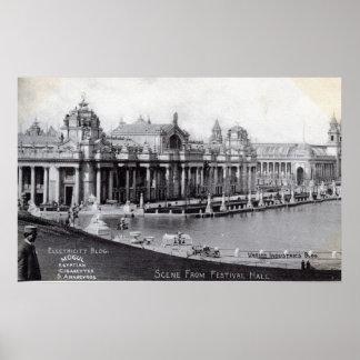 St. Louis World's Fair 1904 Vintage Poster