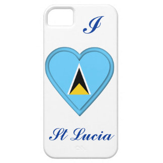 St Lucia flag Case For The iPhone 5