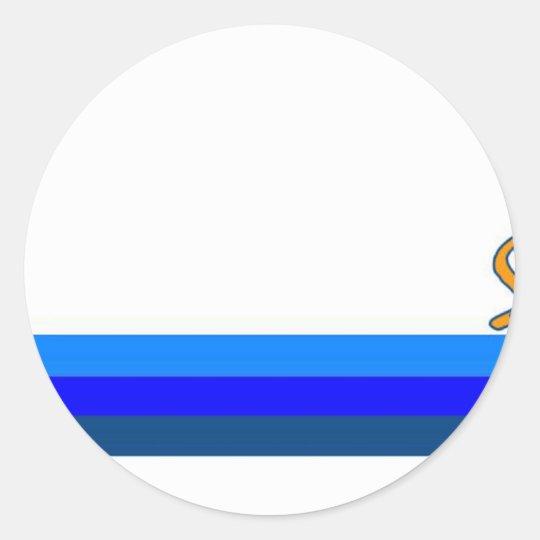 St. Lucia Round Sticker