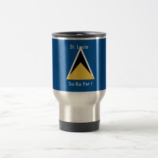 St. Lucia, Sa Ka Fete Coffee Mug
