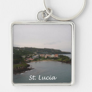 St Lucia View Key Ring