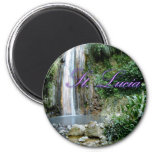 St Lucia Waterfall Magnets