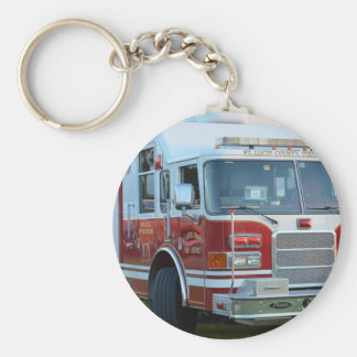st lucie county firetruck front end fire truck basic round button key ring