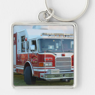 st lucie county firetruck front end fire truck key chains