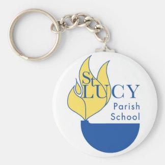 St. Lucy Keychain