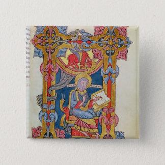 St. Luke 15 Cm Square Badge