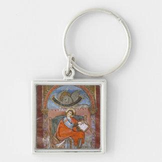 St. Luke, from the Gospel of St. Riquier Key Ring