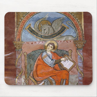 St Luke from the Gospel of St Riquier Mouse Pads