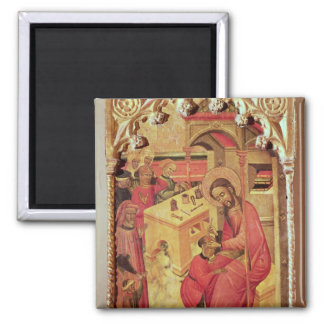 St. Luke Operating on a Man's Head, c.1400-30 Fridge Magnet
