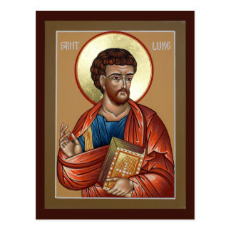 St. Luke Prayer Card Postcard