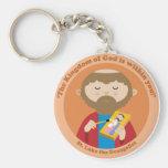St. Luke the Evangelist Key Chain