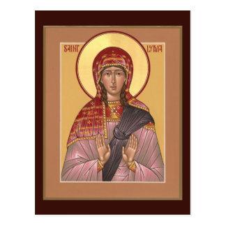 St. Lydia Prayer Card