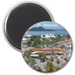 St. Maarten - Marigot Bay Refrigerator Magnets
