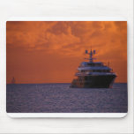 St. Maarten Sunset and Boat Mouse Pads