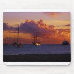 St. Maarten Sunset Mouse Mats