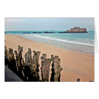ST Malo, Fort National Card