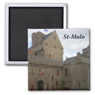 St-Malo - Square Magnet