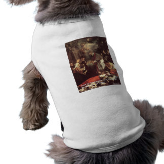 St Marcarius Love/Knowledge Quote Gifts & Cards Sleeveless Dog Shirt