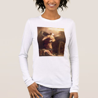 St. Margaret beside the vanquished Devil (panel) Long Sleeve T-Shirt