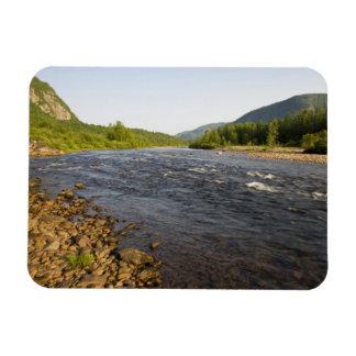 St. Marguerite river in Parc du Saguenay. Rectangular Photo Magnet