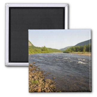 St. Marguerite river in Parc du Saguenay. Square Magnet
