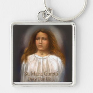 St. Maria Goretti, Martyr for Purity, Key Ring