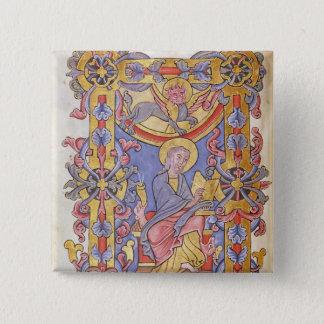 St. Mark 15 Cm Square Badge
