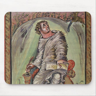 St Mark at his desk Mouse Pads