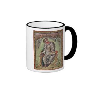 St. Mark at his desk Ringer Mug