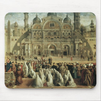 St. Mark Preaching in Alexandria, Egypt, 1504-07 Mouse Pad