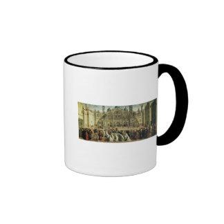 St. Mark Preaching in Alexandria, Egypt, 1504-07 Ringer Mug
