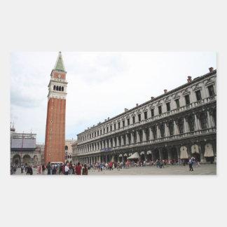 St Mark s Square in Venice Stickers