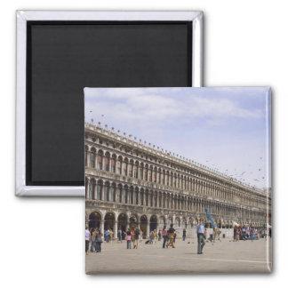 St Mark s Square Venice Italy Fridge Magnet