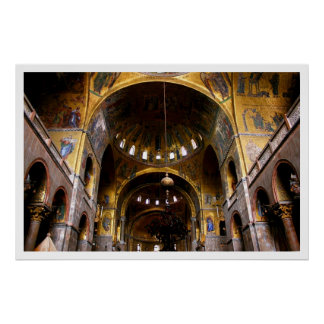 St Mark's Basilica Poster