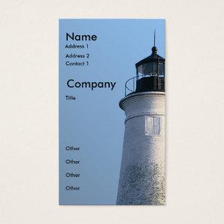 St Marks Lighthouse Business Card