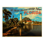 St. Marks Lighthouse Florida Postcard