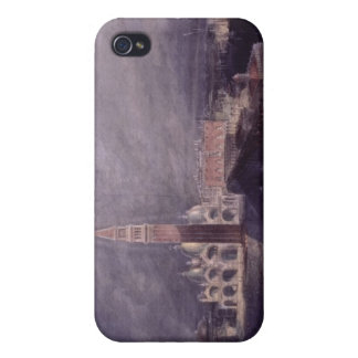 St. Mark's Place, Venice (Moonlight) engraved by G Cases For iPhone 4