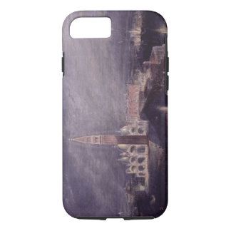 St. Mark's Place, Venice (Moonlight) engraved by G iPhone 8/7 Case