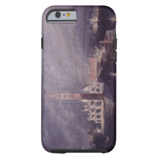 St. Mark's Place, Venice (Moonlight) engraved by G Tough iPhone 6 Case