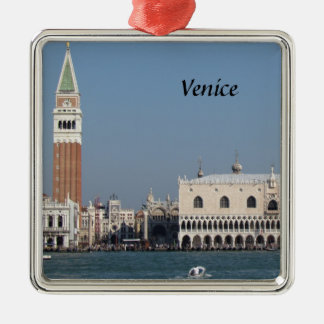 St Mark's Square and Doges Palace Christmas Ornament