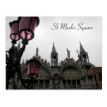 St Marks Square Postcard