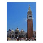 St. Mark's Square, Venice Postcard