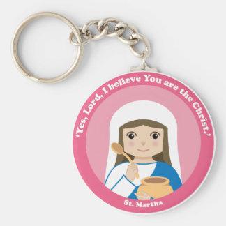 St. Martha Key Ring